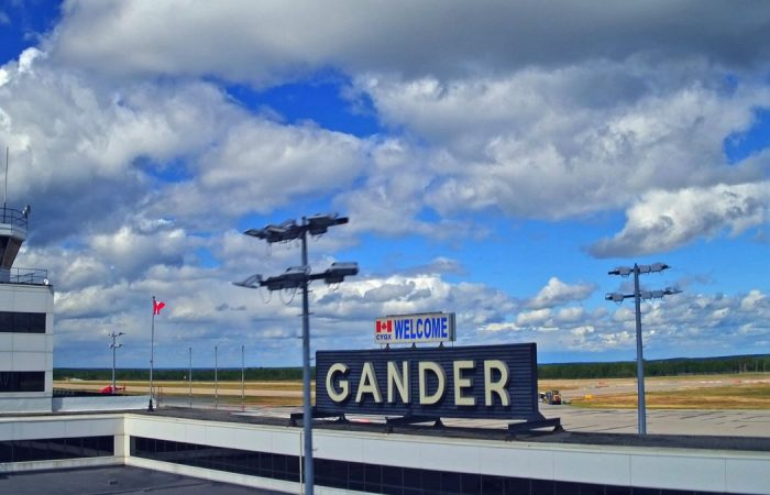 Gander, Newfoundland airport